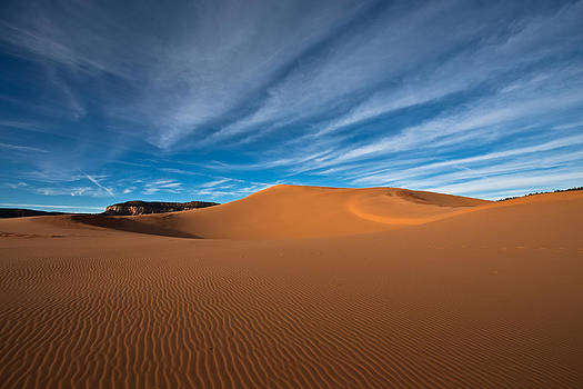 Sea of sand by Jeremy D Taylor