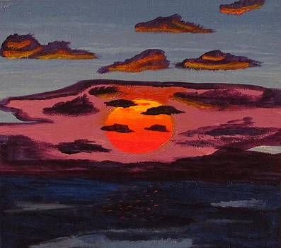 Sea Sunset by Tyler Martin