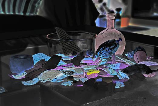 Seaglass Abstract by Christine Stonebridge
