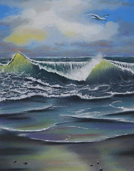 Seascape 3 by Charles Hubbard