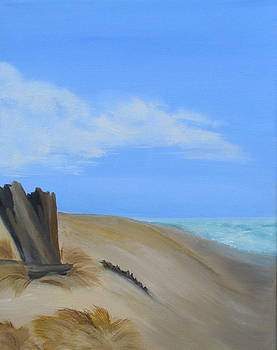 Seaside in Oils by Vickie Roche