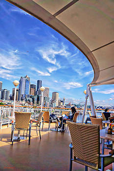 Seattle from NCL Deck by SM Shahrokni
