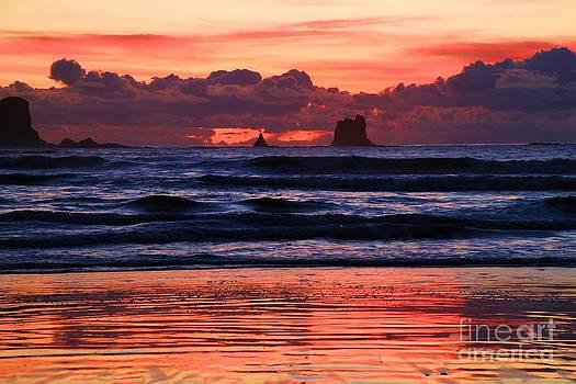 Adam Jewell - Second Beach Fire In The Sky