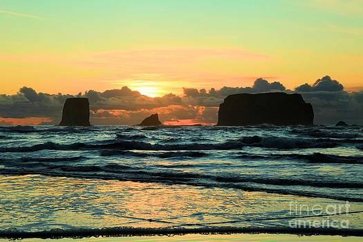 Adam Jewell - Second Beach Sea Stacks