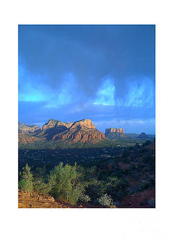 Sedona Clouds by Nina Prommer