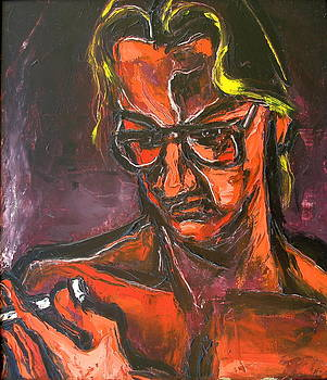 Kenneth Agnello - Self-Portrait -1984