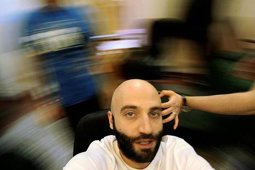 Self Portrait by Azad Pirayandeh