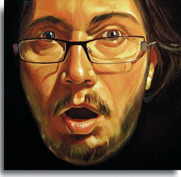 Selfportrait by Calin Bogatean