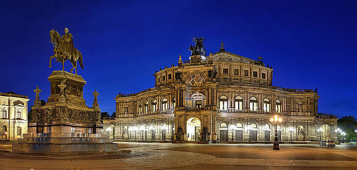 Semper Opera Dresden  by Travel Images Worldwide