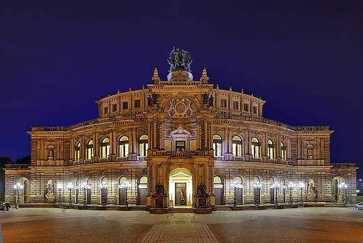Semper Opera by Travel Images Worldwide