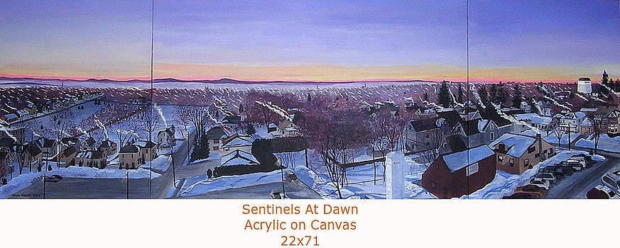 Stella Sherman - Sentinels at Dawn Canvas View