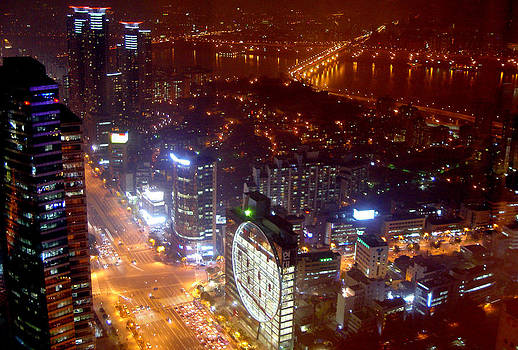 Seoul Night by Floridapfe from S.Korea Kim in cherl