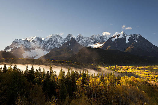 Seven Sisters in Autumn by Brandon Broderick
