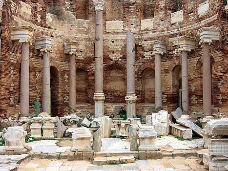 Severan Basilica, Leptis Magna, Libya by Joe & Clair Carnegie / Libyan Soup