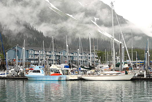 Seward's Foggy Morning by Claire Pridgeon