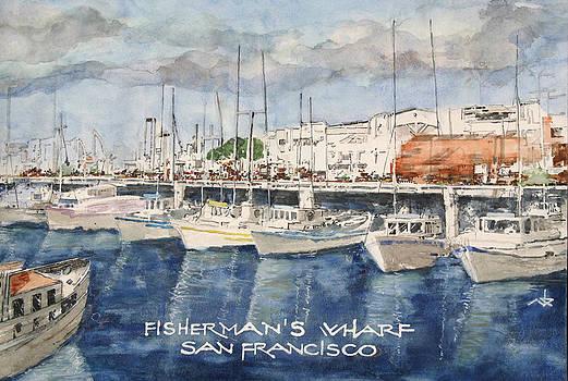S.F. Fisherman's Wharf by Art King