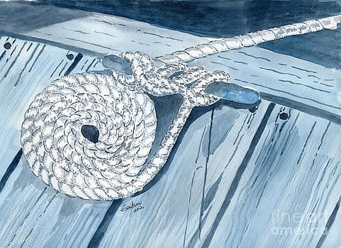 Shades of Blue by Eva Ason