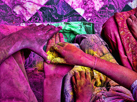 Sharing Colours by Ratan Sonal