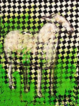 Sheep. Drawing by Elisa Merino Calvo