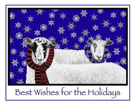 Sheep Holiday by Marla Saville