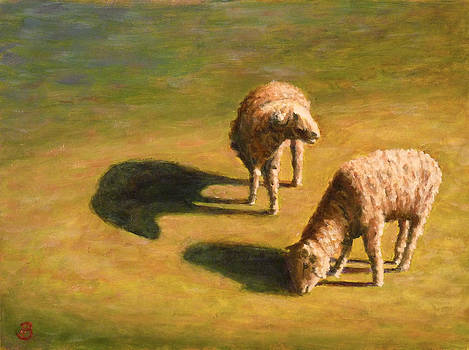 Sheep Shapes Two  by Joe Bergholm