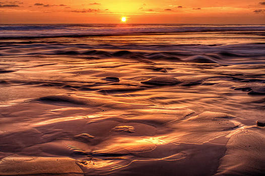 Shifting Sand and Shoreline by Donna Pagakis
