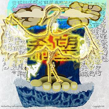 Shimmer  The Thousandth Crane by M R Garcia
