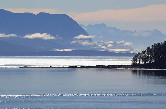 Shimmering of light in Alaska by Susan Meade