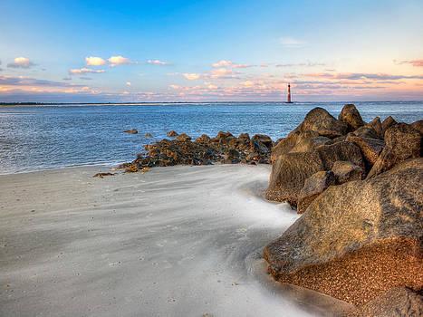 Shoreline view Morris Island  by Jenny Ellen Photography
