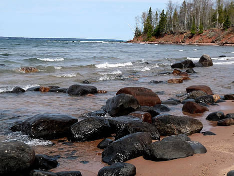 Terry Eve Tanner - Shores of Lake Superior