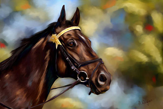 Michelle Wrighton - Show Horse Painting