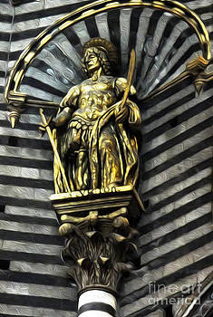 Gregory Dyer - Siena Italy - Saint Statue