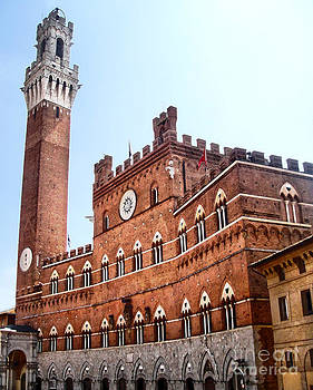 Gregory Dyer - Siena Italy - Torre del Mangia