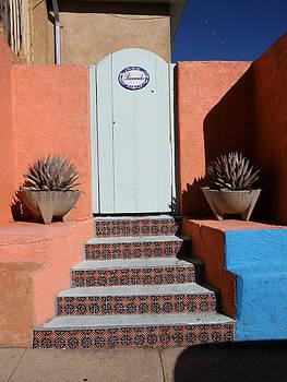 Silver City Doorway by FeVa  Fotos