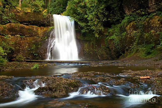 Adam Jewell - Silver Falls Waterfall