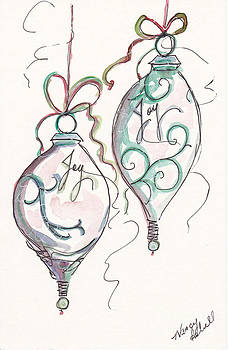 Silver Ornaments Of Joy by Michele Hollister - for Nancy Asbell