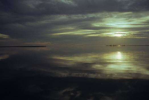 Silver sunset by David Campione
