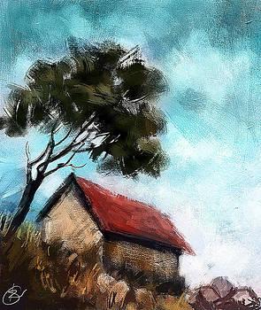 Simple Landscape  by Kiran Kumar