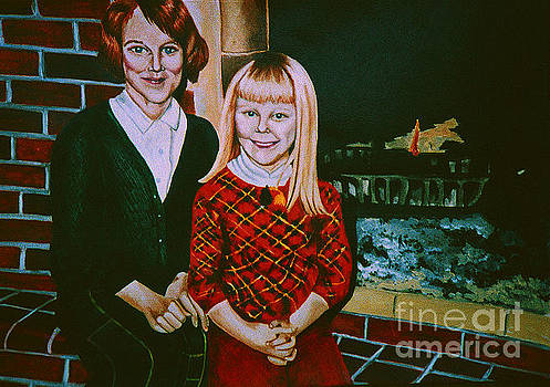 Sisters 1963 by LJ Newlin