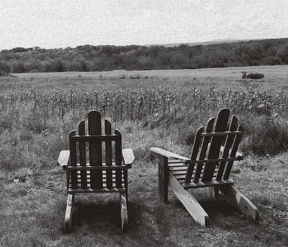 Sit A While by Krista Pandiscio