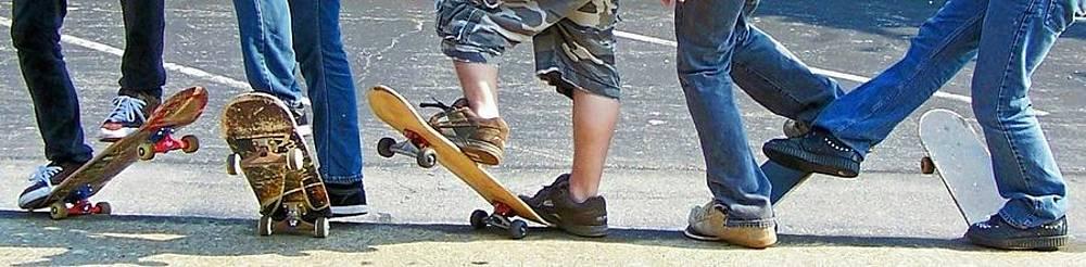 Skate Feet by Joan Powell