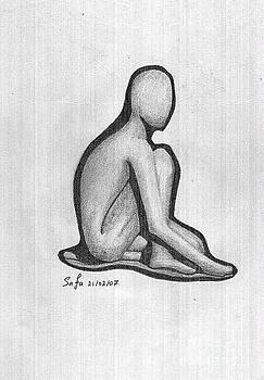 Sketch by Safa Al-Rubaye