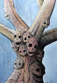 Skull Tree by Anthony Nold