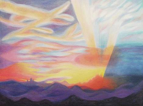 Suzanne  Marie Leclair - Sky Ablaze
