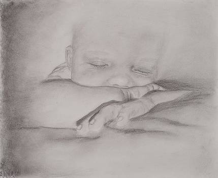 Sleeping Baby by Michelle Wolff