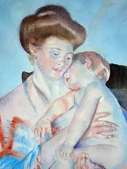 Sleepy Baby by Nancy Pratt