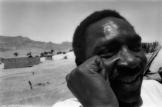Isaac Silman - Smiling Bedouin