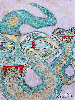 Snake Twins by Robyn Louisell