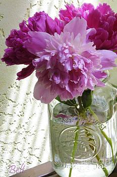 Christine Belt - Snickerhaus Peonies in a Vase No.2