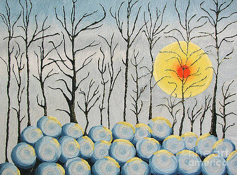 Snow Fort by Barbara Nolan
